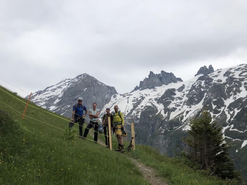 Klettersteig Engelberg : Klettersteig fürenwand m engelberg u franz schuler